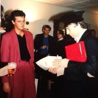 Joop and Bram Buunk - september 1991