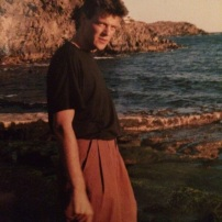 Joop at Devon Coast - around 1982