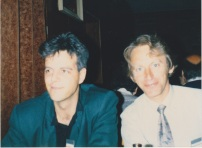 Joop and Dick Eiser at the EAESP conference in Varna, Bulgaria - March 1987