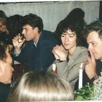 Joop at wedding Paul & Wilma - 1996